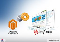 Magento integration with sales force CRM