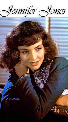 Jennifer Jones (March 2, 1919 – December 17, 2009) was an American Oscar-winning actress during the Hollywood golden years. Jones, who won the Academy Award for Best Actress for her performance in the 1943 The Song of Bernadette, was nominated five times for the Academy Awards. She married three times, most notably to film producer David O. Selznick.