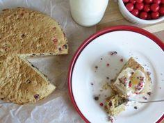 Giant Jaffa Cookie Cake