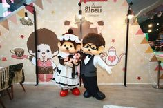 Monchhichi Pop-up Café Pop Up Cafe, Mickey Mouse, Disney Characters, Fictional Characters, Japanese, Art, Art Background, Japanese Language, Kunst