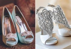 Our Favorite Instagram #WeddingShoes- in love with the last pair