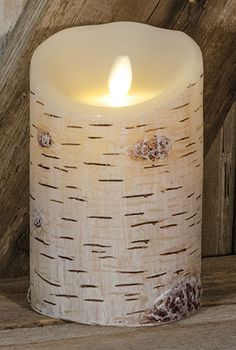 Loving the new Birch Luminara with the realistic flame patented by Disney. Beautiful!