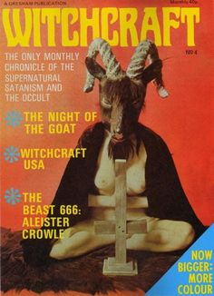 Chris is gonna tattoo this on my right thigh. Oh. I love 70s Occult stuff.