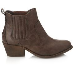 Forever 21 Women's  Faux Leather Chelsea Boots ($23) ❤ liked on Polyvore featuring shoes, boots, ankle booties, ankle boots, cigar, chelsea boots, platform bootie, forever 21 boots, platform booties and faux leather platform booties
