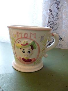 Vintage Mid Century Mug for Mom's Coffee by PamelaMurphyVintage, $28.00