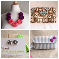10 Days of Giveaways: Ad Space, Necklace, & Wallet from Glow Kouture!