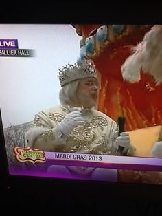 The King of Mardi Gras,New Orleans!