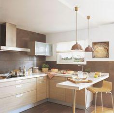 Eat In Kitchen Ideas – Kitchen Design Kitchen Dinning, Eat In Kitchen, Kitchen Decor, Kitchen Design, Island Kitchen, Kitchen Ideas, Kitchen Furniture, Kitchen Interior, Modern Kitchen Lighting