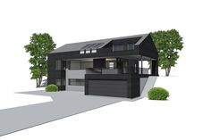 Funkishus U-840. Funkishus og moderne boliger fra Urbanhus, tilpasset dine individuelle behov. Arkitekttegnet og spesialtilpassede hus.
