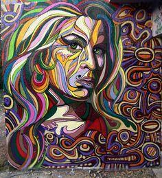 Shaka - Graffiti, peintures. DKP PPA.