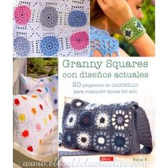 Granny Squares con Diseños Actuales