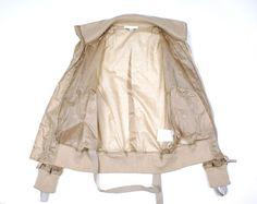 Helmut Lang men bondage MA-1 silk lightweight bomber jacket Size 44 EU S/M | eBay