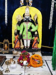 Varanasi ghat-- Sri balaji temple