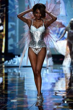 All The Runway Looks From The 2014 Victoria's Secret Fashion Show #VSFashionShow2014 #London #Elle