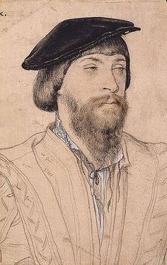 Thomas Vaux, 2nd Baron Vaux of Harrowden by Hans Holbein the Younger (1535)