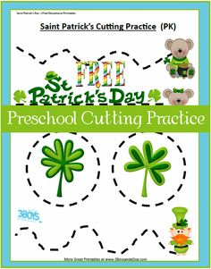 Check out the newest post (Saint Patrick's Day Printables: Preschool Cutting Practice) on 3 Boys and a Dog at http://3boysandadog.com/2014/03/saint-patricks-day-printables-preschool-cutting-practice/?Saint+Patrick%27s+Day+Printables%3A+Preschool+Cutting+Practice
