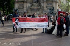 150 people took part in demanding freedom for Georges Abdallah in Paris 9 May(6)