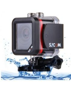 SJCAM M10 Cube Mini Waterproof Action Sports Camera with 170-degree Wide-angle Lens, 1.5 Inch LTPS Screen, Support Full HD 1080P(Red)