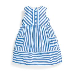 Shop the JoJo girls' dress range. Great selection of girls' jersey dresses and girls' jumpers. Dress them up or down for any occasion. Stylish Dresses, Simple Dresses, Girls Jumpers, Striped Shirt Dress, Striped Jersey, Cotton Cardigan, Pretty Baby, Rain Wear, Baby Dress
