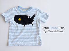 Make a custom state t-shirt. My sister who moved to San Diego needs a Michigan one STAT.