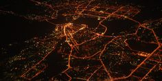 What Satellite Pictures Of Earth's Lights Can Tell Us About How Our Cities Grow