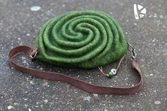 "WOOLEN BAG ""Labyrinth"""
