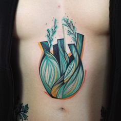 This Funky Tattoo Artist's Work Should Be in a Museum via Brit + Co.