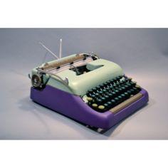 Restored Vintage Typewriters. #KasbahModerne #fab