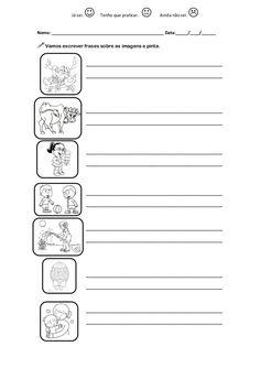 Escrever frases 1º ano