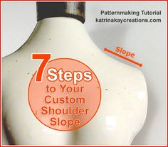 Plus Size Pattern Alteration: 7 Steps to Your Custom Shoulder Slope - Sewing, Alterations for Plus Size Women