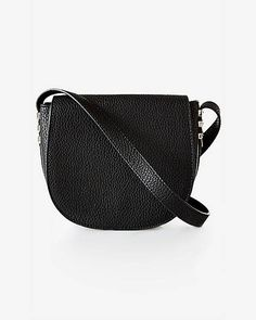 Pebble Textured Chevron Cross Body Bag | Express