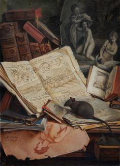 Narcisse Rabier, Les amateurs de vieux bouquins, (1909)