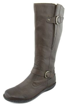 Born Women's Grey Gray Faye Pebble Leather Boots