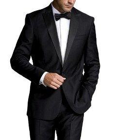 una presentacion impecable de ternos para caballeros en todas las tallas y para hombres robustos