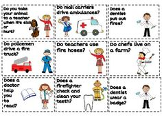 Community Helpers- Preschool Language Pack Community Workers, My Community, Pe Activities, Classroom Activities, Community Helpers Activities, Preschool Education, Physical Education, People Who Help Us, Mega Pack