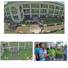 Fotos desde nuestro drone a los institutos visitantes, San Francisco de Asis, Rafael Eliodoro Valle, Juan Pablo Segundo y el Instituto Betel. #UTH #Honduras