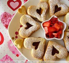 Valentine Linzer Cookies   Biscoitos Austríacos