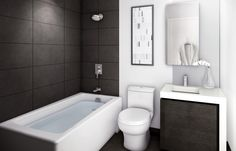 Bathroom designs for small spaces can help you make the most out of the space you have and still get the look you want. Here we have 25 bathroom ideas for small spaces