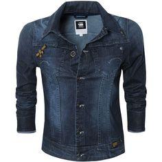 G-STAR Midge Denim Jacket ($245) ❤ liked on Polyvore