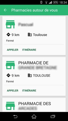 Unooc Pharmacies– Application Android