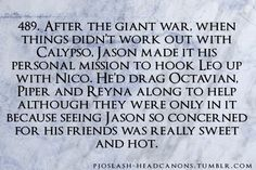 "Wait a sec back it up ""hot""like for Octavian ?<<<No, as in Octavian thought Jason was hot"