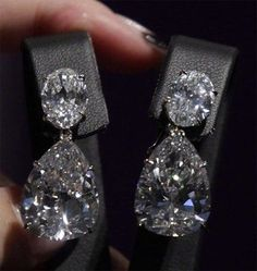 0.50 Ct Round Cut Natural Diamond Disc Stud Earrings .925 Sterling Silver