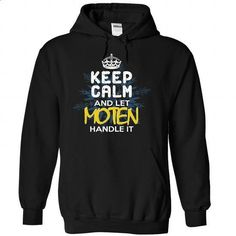 Keep Calm and Let MOTEN Handle It - #coworker gift #funny hoodie