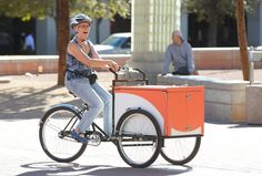 Bookbike on the Road | Flickr - Photo Sharing! // Pima County Public Library Book Bike