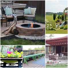 Insanely Clever Outdoor Living DIYs to Try This Summer | Making Lemonade Diy Garden Bed, Diy Garden Projects, Outdoor Projects, Diy Patio, Outdoor Fun, Outdoor Decor, Outdoor Spaces, Outdoor Activities For Kids, Easy Diy