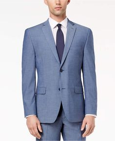 907d6a8f546a07 Alfani Red Men s Slim-Fit Performance Stretch Light Blue Suit Jacket