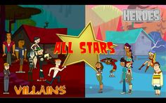 total drama all star | Total Drama Fan Blog: Total Drama All-Stars (season 5) I DIDNT EVEN KNOW THIS WAS OUT UNTIL YESTERDAY