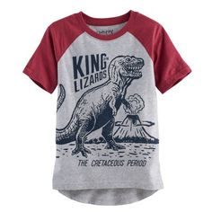 Boys 4-10 Jumping Beans® High-Low Raglan Tee