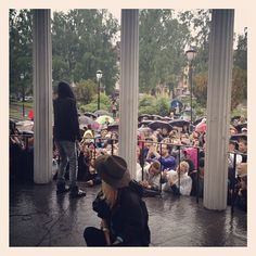 #CityofAngels in the rain at #marsflashmob Oslo