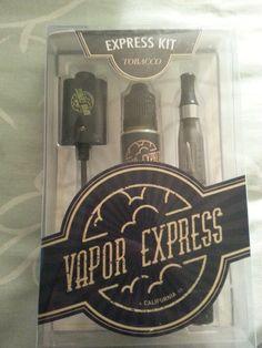 Vapor Express Express Kit - Smokeless eCig Reusable Starter Kit $19.99
